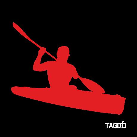 Tagdíj kajak-kenu Parasportoló